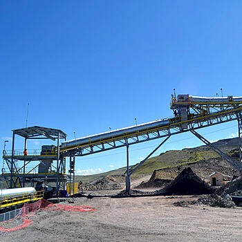 conveyor belts and mining equipment