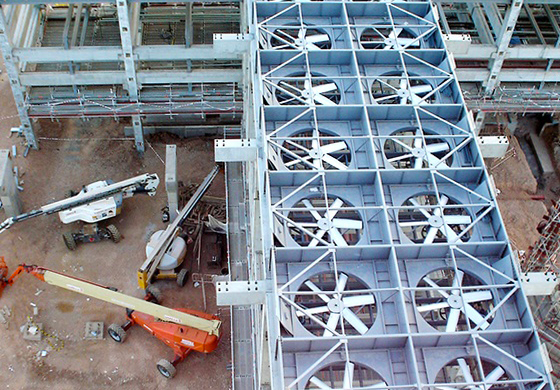 dry cooling systems fabrication
