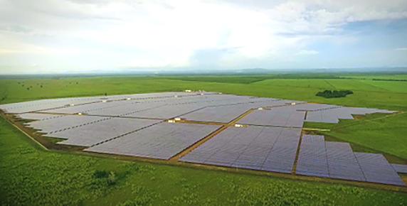 mata de palma photovoltaic solar plant