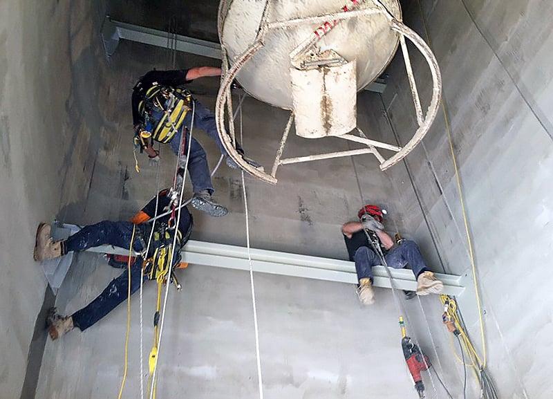 rope access maintenance